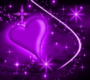 Purple-Heart-Wallpaper